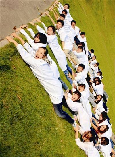 学校创意集体照造型|队形大全图片