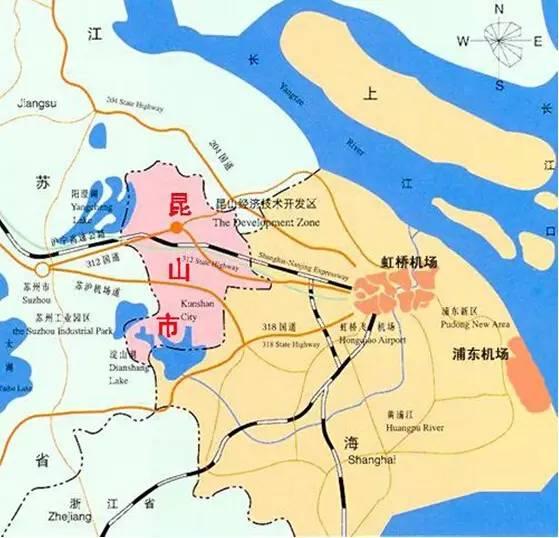 昆山2017经济总量_昆山经济开发区地图