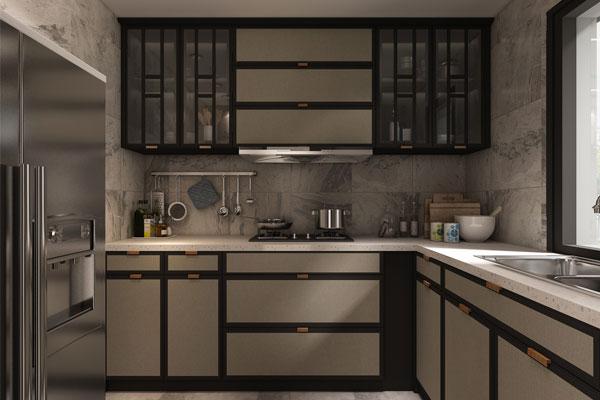 我乐厨柜新中式家居设计图片
