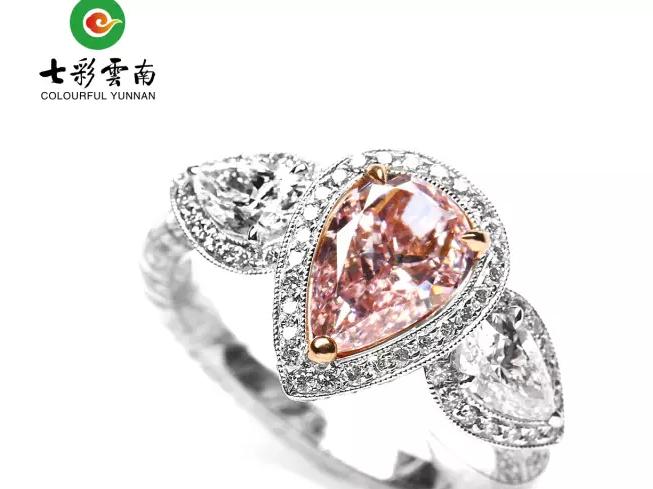 【珠宝秀场】10万颗钻石才有可能出一颗的彩钻,你了解多少?