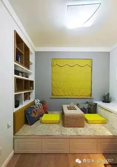 实用榻榻米书房装修效果图