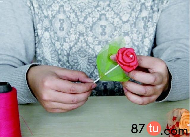 永恒的玫瑰花折纸图解教程