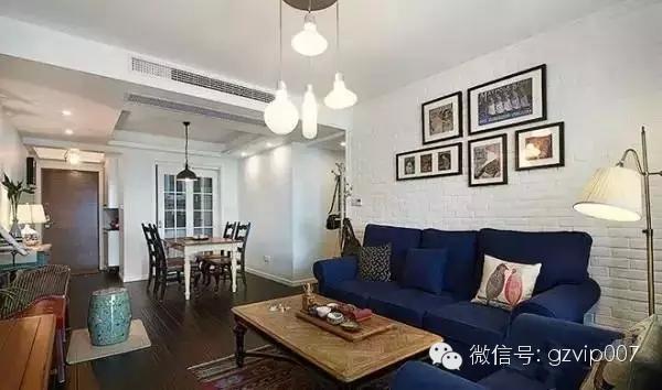 家居装修沙发背景墙家庭装修客厅壁画图片5