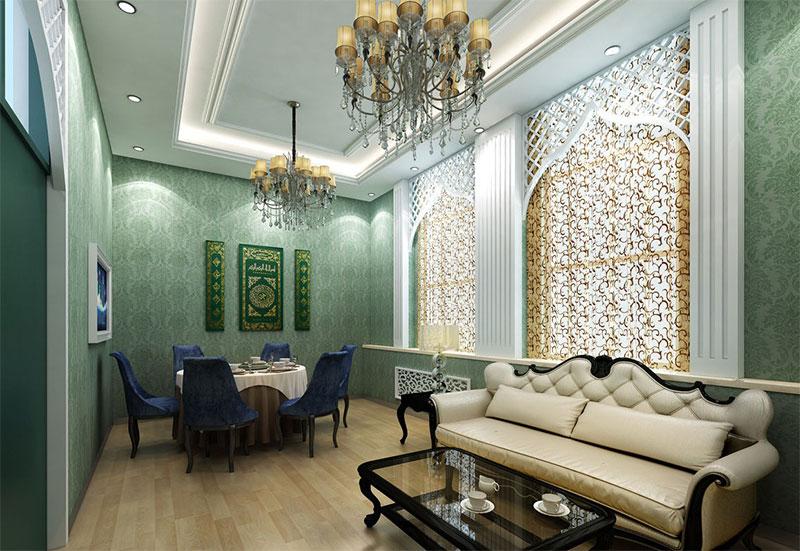 伊斯兰风格室内装修设计,让您感受纯净之美