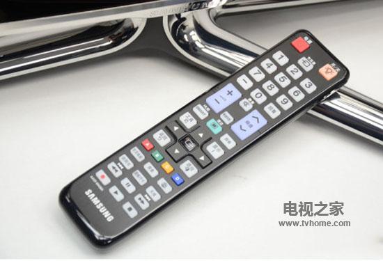 三星电视遥控器 1、点击三星H5500系列电视遥控器【项目】键-三星电图片