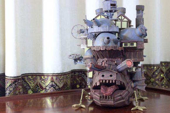 DIY狂人!手工制作哈尔的移动城堡!
