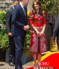 【珠宝秀场】凯特王妃印度造型揭秘 8英磅耳环照样戴出王妃范!