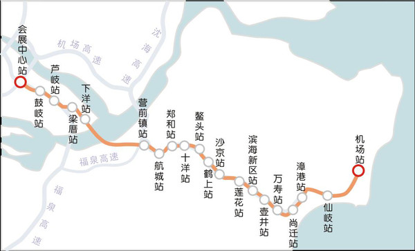大桥,去长乐增加一条快速通道!跟地铁6号线合