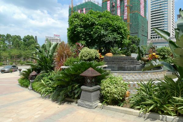 湛江人和春天住宅小区景观设计-三秋地园林景观
