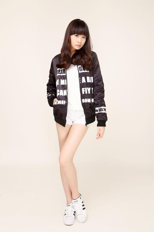 珠海13岁女生女孩学历:逆天腿长115cm大片的高时尚追图片