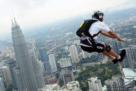 国外高空极限运动视频