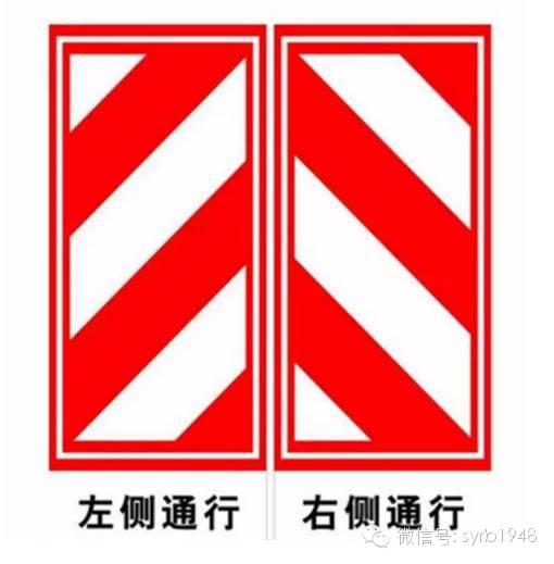 民族复兴的两大标志-易吃罚单的交通标识