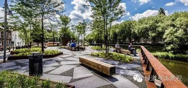 设计公司:hosper 项目地点:荷兰阿姆斯特尔芬 项目特色:养老院景观