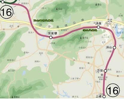 南京地铁1 16号线完整站点名单,有经过你家门口的吗 16号线地铁线图片