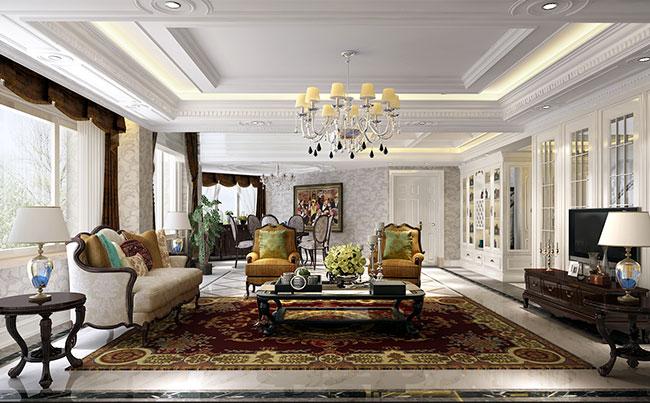 【北京别墅设计】太华公寓欧式风格别墅设计