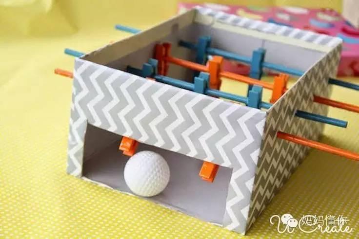 鞋盒变废为宝,为宝贝DIY一件限量版的玩具吧