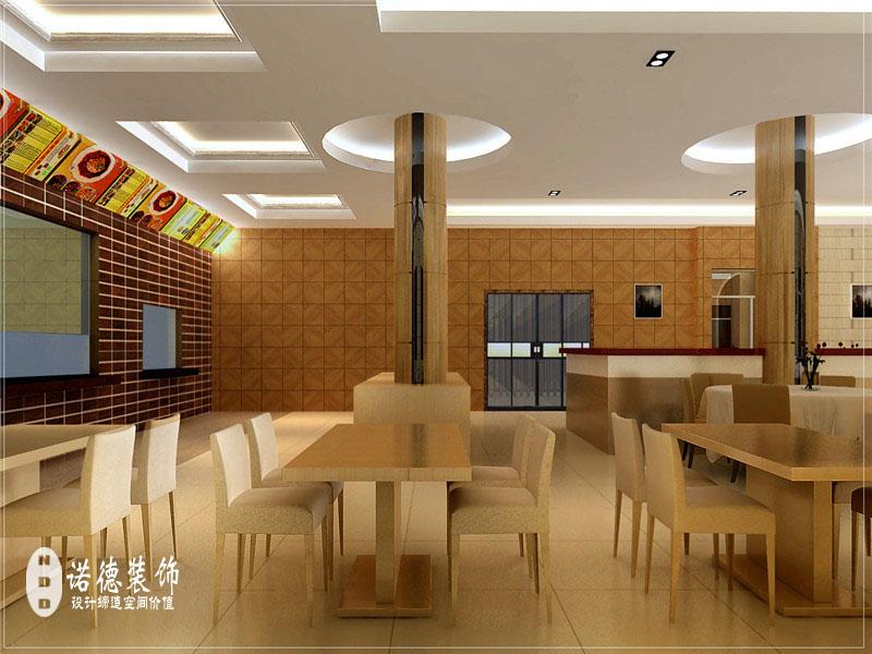 郑州职工餐厅设计-食堂装修设计-青岭实业职工餐厅图片