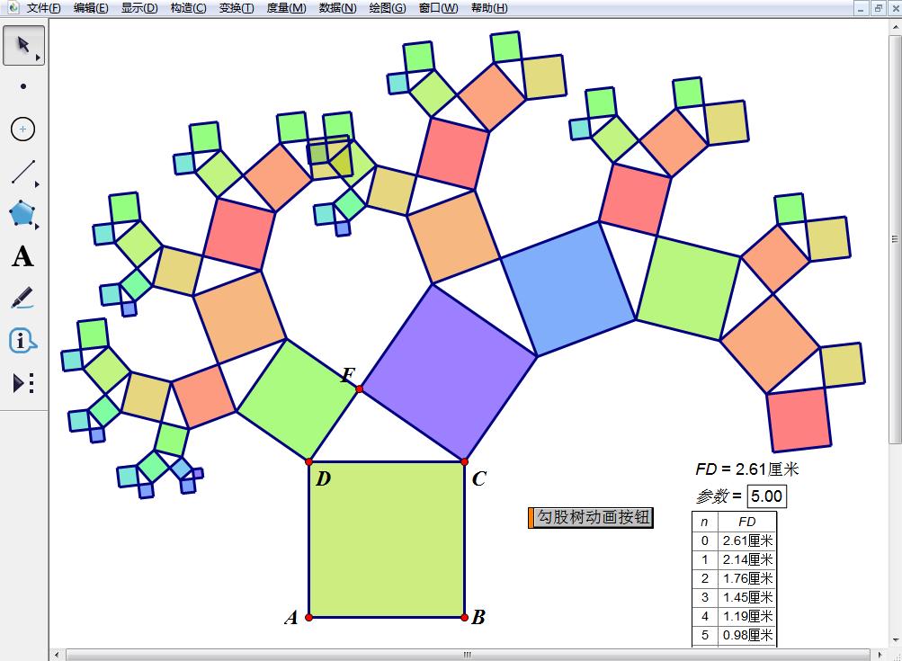 几何画板制作正方体展开图动画