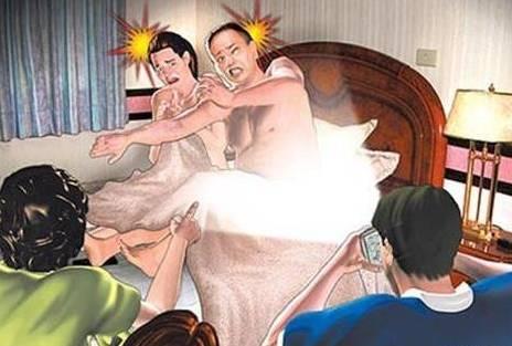 妻子外地会情夫 丈夫用手机定位共享功能捉奸