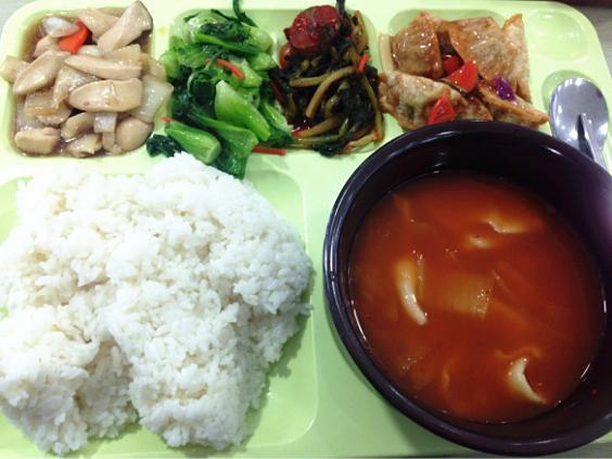 中国留学生走进韩国食堂:图说韩国人的舌尖烦