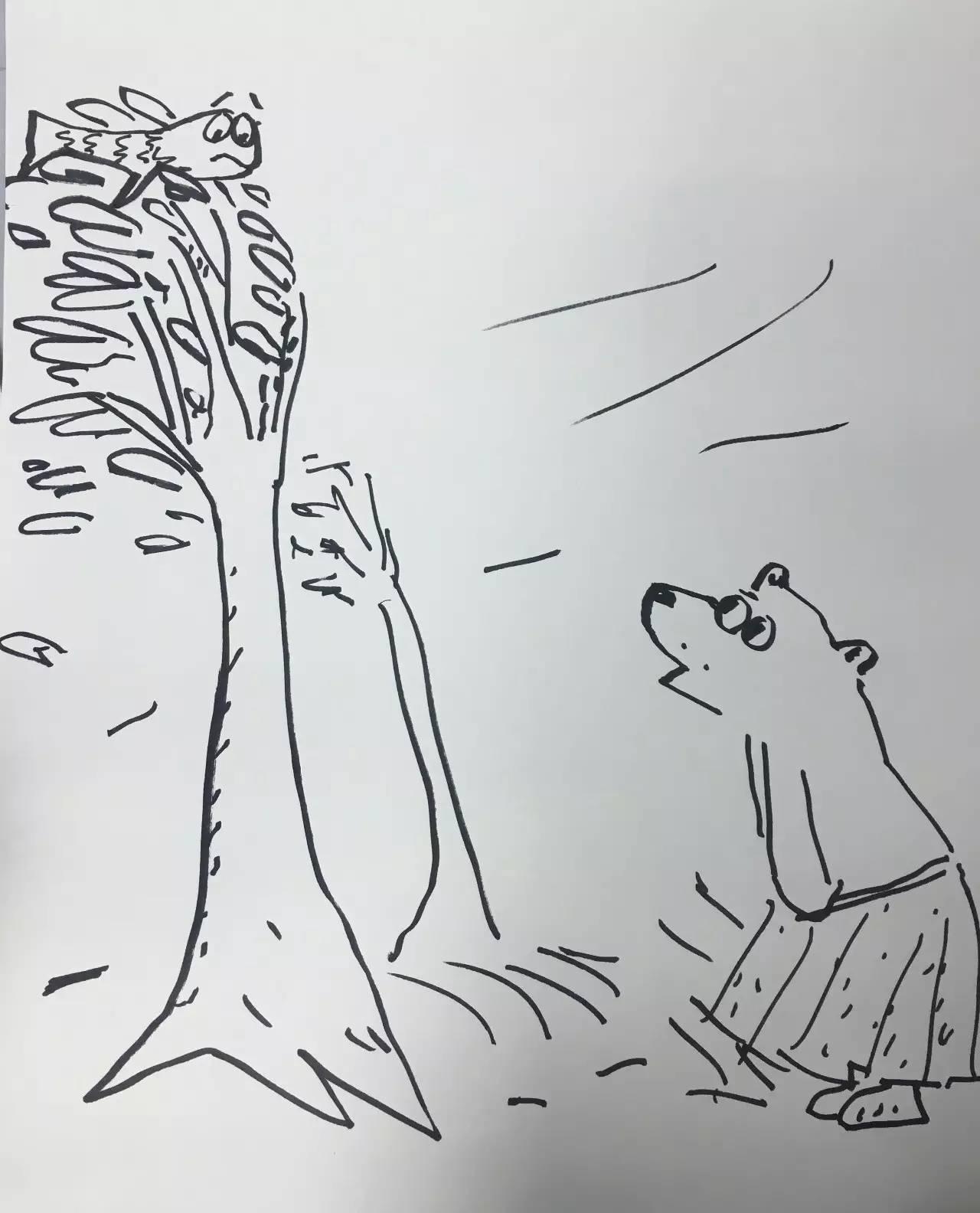 大风简笔画-对谈绘本大师卡特琳娜 沃尔克斯