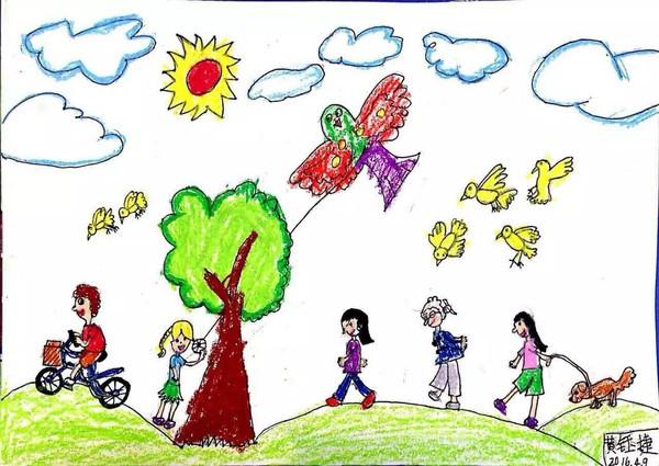 """""""我家孩子的画""""儿童绘画作品比赛开始投票啦!"""