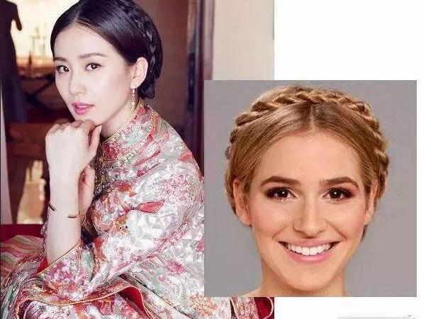 新娘盘发-婚 发型图片