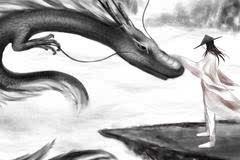 古越人也以为自己是龙种,故断发纹身,以像龙子,而深信.