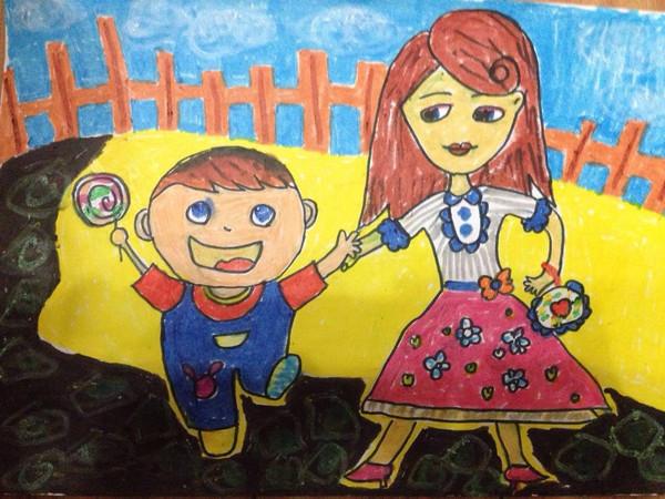 母婴 正文  一起来欣赏纯真孩子们的绘画作品