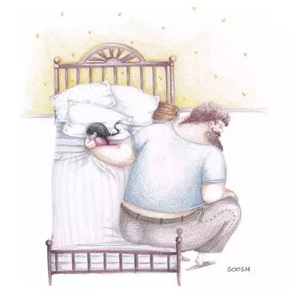不占太多空间 只为给你留出一片广阔天地 每次当你生病卧床的时候 他2图片