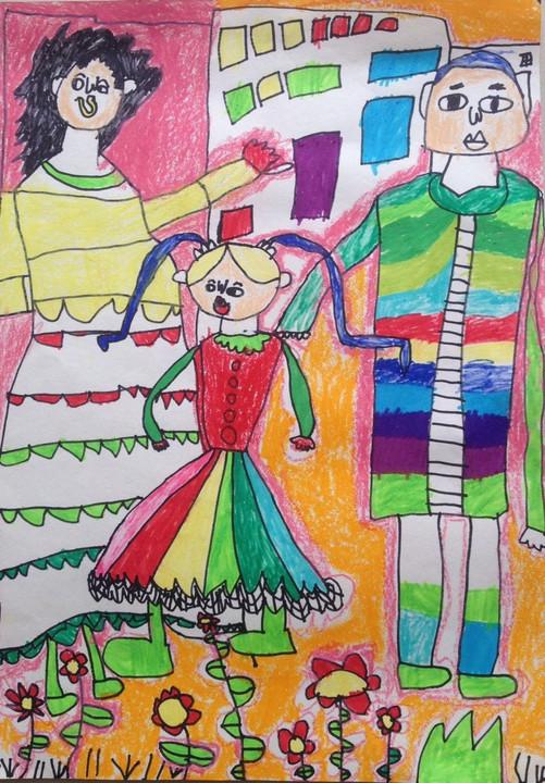 票!啦! 一起来欣赏纯真孩子们的绘画作品
