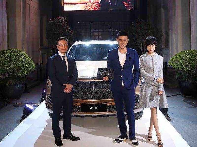 超豪suv宾利添越的第一位中国车主竟然是陆毅