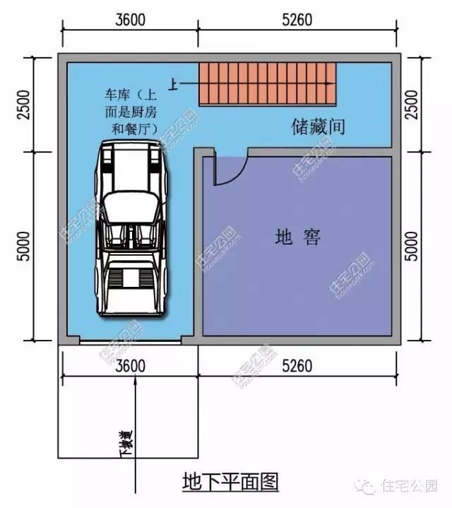 中国徽派自建房别墅13*12米