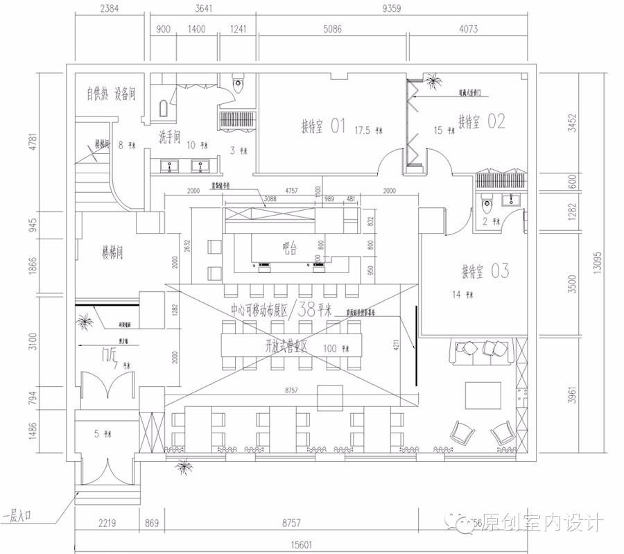 【大树底下的咖啡厅】--原创测量方案2017cad怎么距离设计图片