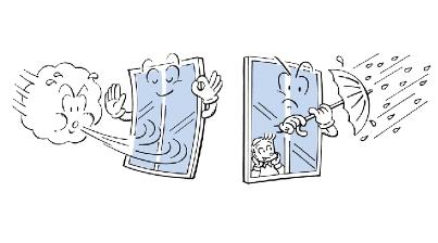 窗边的小孩子 手绘