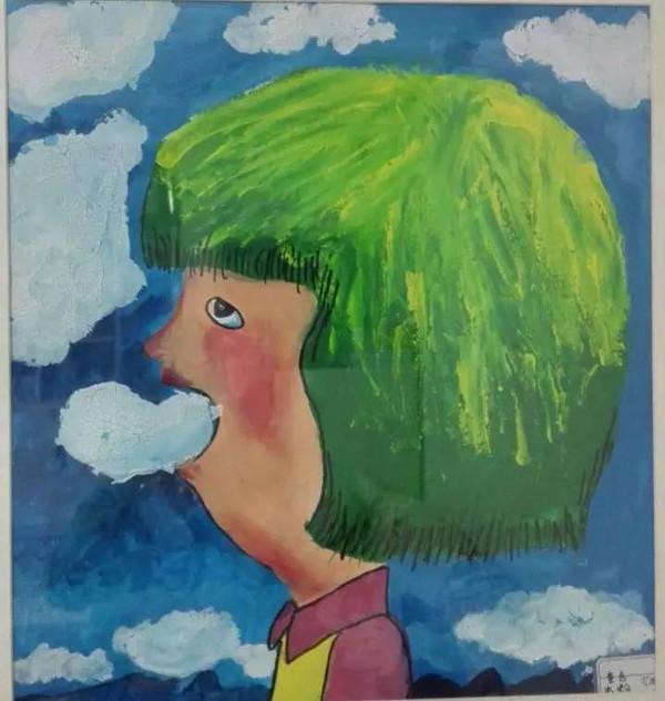 一起来欣赏纯真孩子们的绘画作品