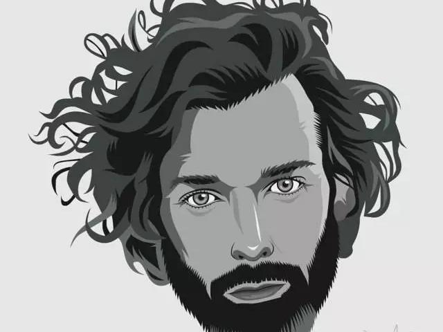 欧美男士发型 | 胡须与发型搭配