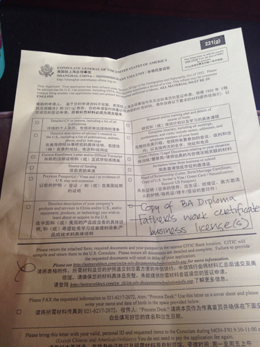美国十次日加_美国签证被拒签的原因:212a,214b,221g条款