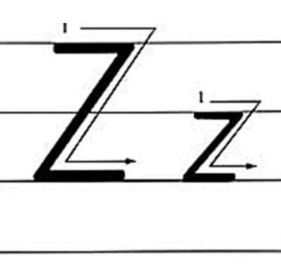 26个英文字母 手写体示范 ,标准书写一步到位