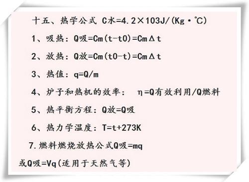 最全初中物理公式 - 竹林听书 - 竹林听书