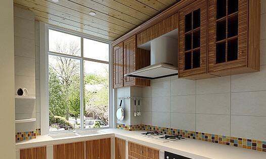 板材,经过高温脱脂处理,耐高温,不易变形,最近几年也被用于卫生间吊顶图片