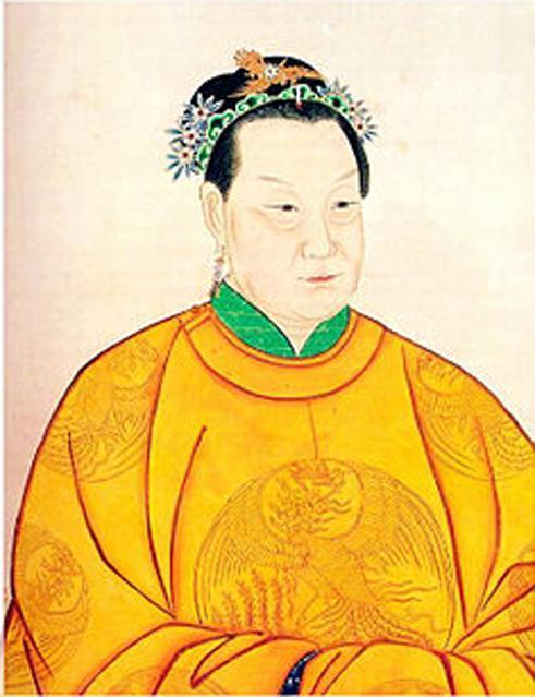 朱元璋的马皇后(资料图)