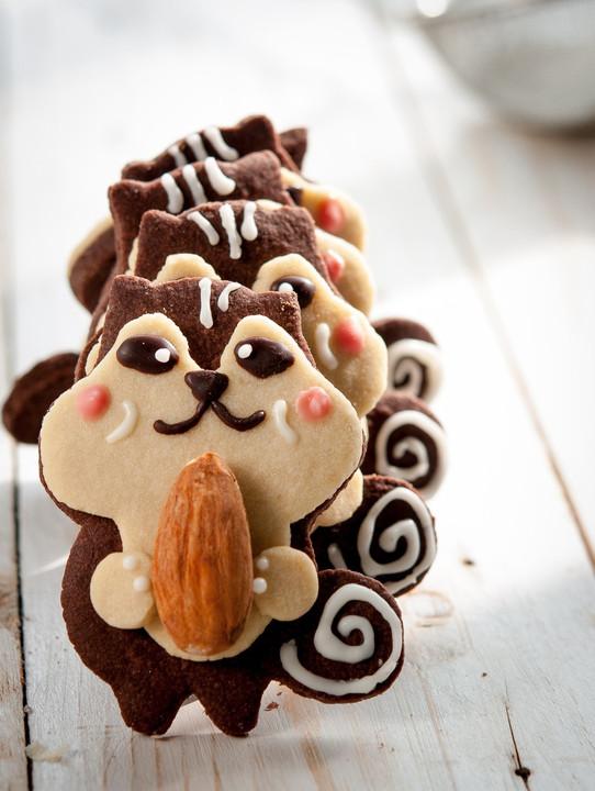 达人教你玩转可爱造型饼干