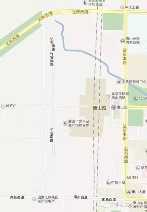 唐山丨唐山站西广场即将投入使用交警详解车辆如何通行附实拍图图片