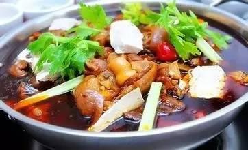 红汤羊肉火锅