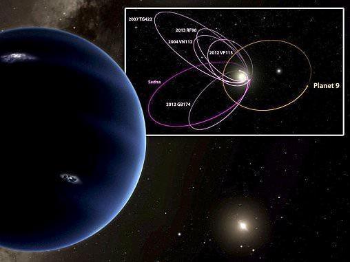 科学家 寻找第九大行星极具科学价值图片