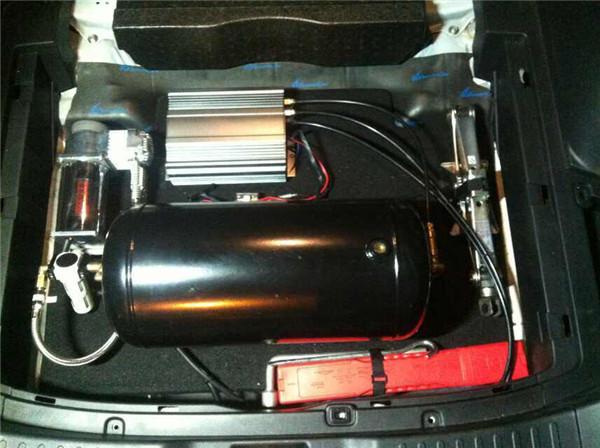 双针气压表:1个viair 打气泵:1个,美国viair或accuair 压力开关:1个图片