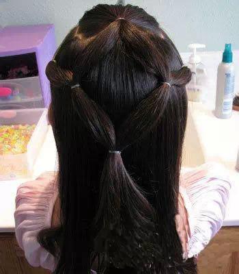 小女孩花式扎头发法大全,美得不要不要的 5分钟轻松搞定