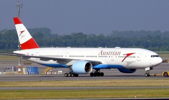 欧美无码777_奥地利航空波音777客机
