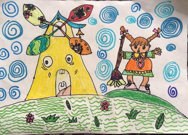 """""""我家孩子的画""""儿童绘画作品比赛开始投票啦!(第七期)图片"""